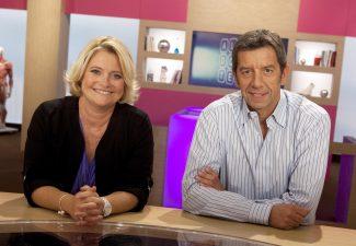 Michel Cymes Marina Carrere D'encausse.